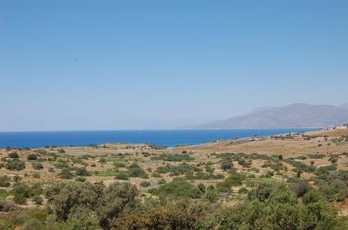 Arrivée sur Matala en Crète