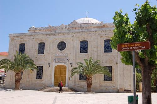 Eglise en Crète à visiter