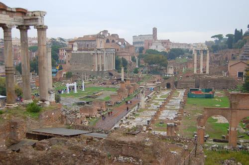 Site archéologique romain