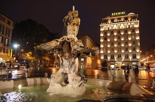 fontaine du Triton à Barberini