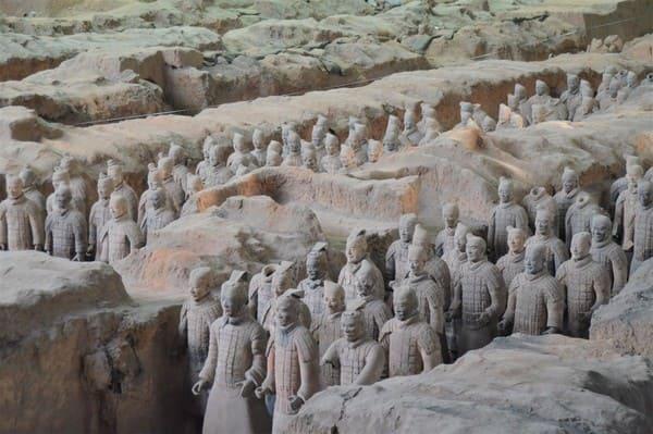 Armée de statues Chine