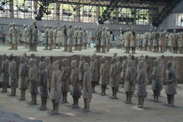 soldats armée terre cuite Xi'an