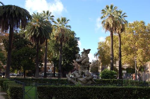 jardins à Rome