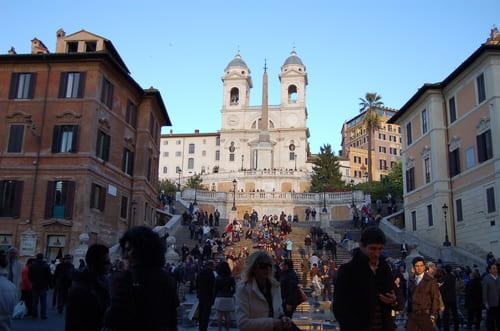 église de la Trinité des Monts Rome