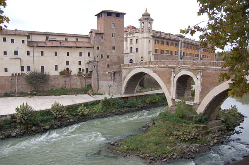 Ile Tibérine à Rome