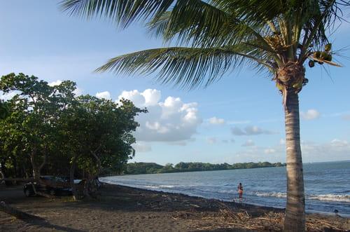 Sable noir Guadeloupe
