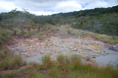 volcans actifs au Costa Rica