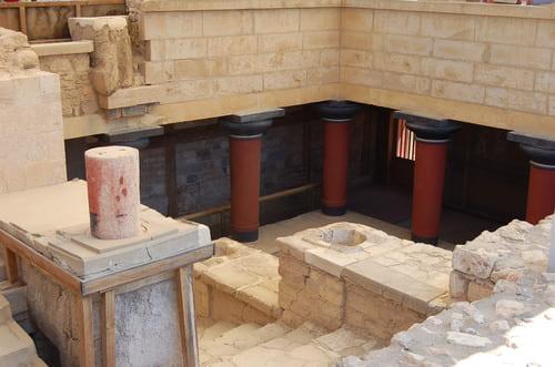 Reconstitution site de Knossos