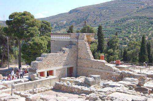 Visite Knossos en Crète