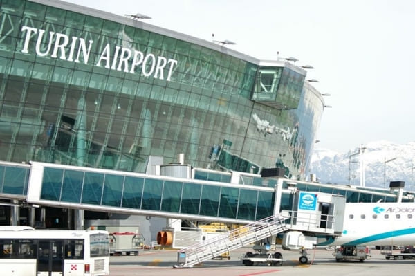 Terminal aéroport Turin