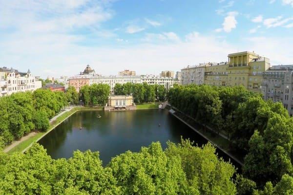 Etang Patriarche Moscou