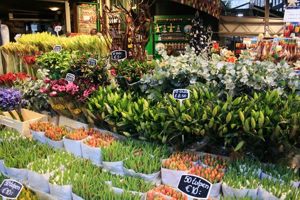 Marché aux fleurs Bloemenmarkt