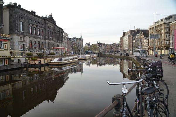 Canaux Amsterdam quartier jordaan