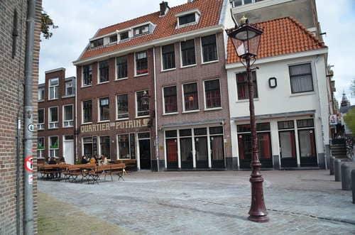Quartier rouge de jour Amsterdam