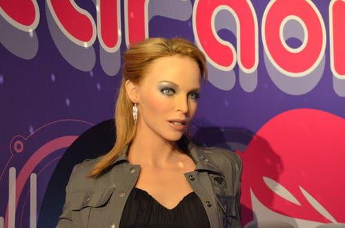 Mannequin de cire Kylie minogue