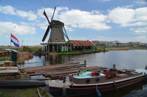 Balade vélo moulin Amsterdam