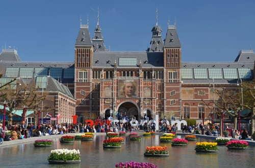 La place des musées Amsterdam