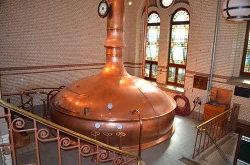Démonstration fabrication bière Heineken