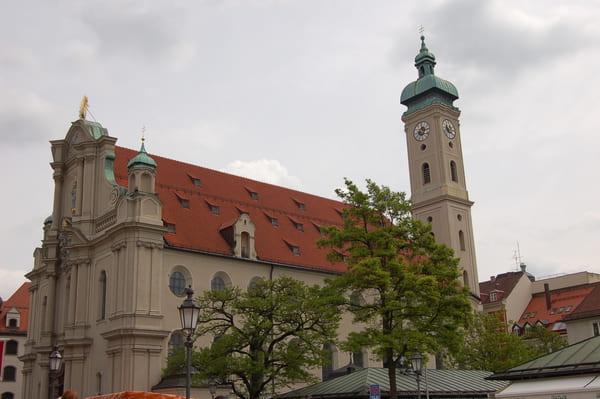 Eglise Heilige Geist Munich