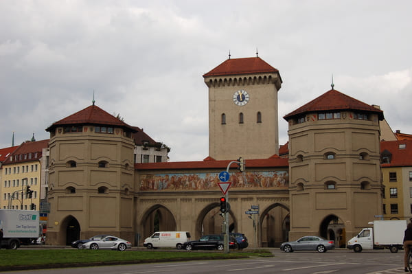 Isar porte de Munich