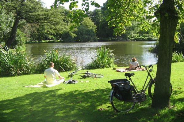 Vondelpak parc Amsterdam