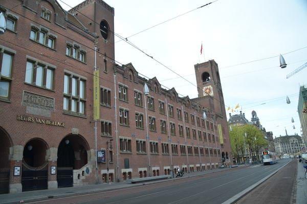 Bourse Berlage à Amsterdam