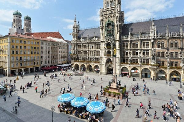 Place centre historique Munich