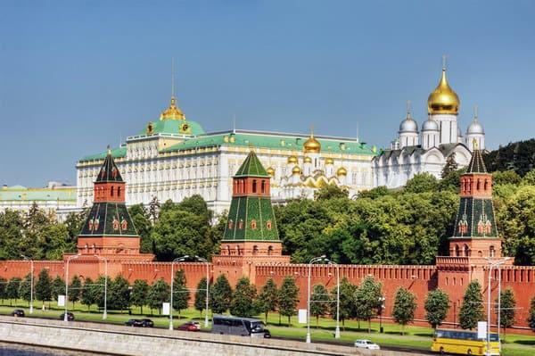 Kremlin visite Moscou