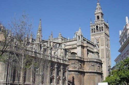 Cathédrale et giralda Seville