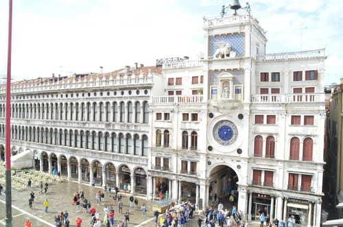 La Tour de l'horloge Venise