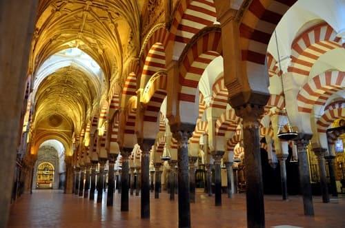 Intérieure de la Mezquita