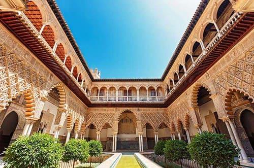 Alcazar et jardins Seville