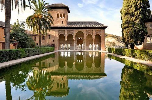 Jardins grenade Alhambra