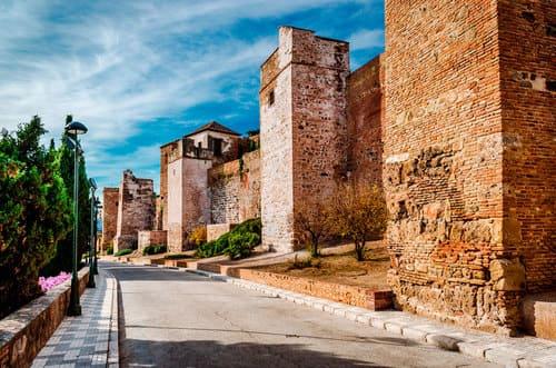 Alcazaba remparts Malaga