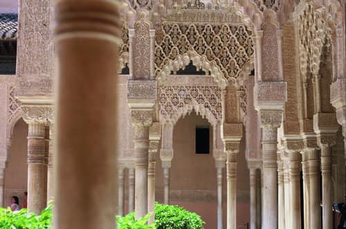 Architecture palais Nasrides