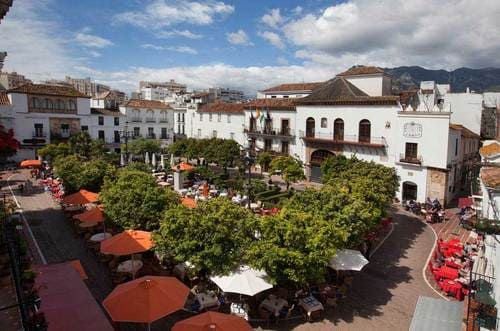 Place des orangers Malaga