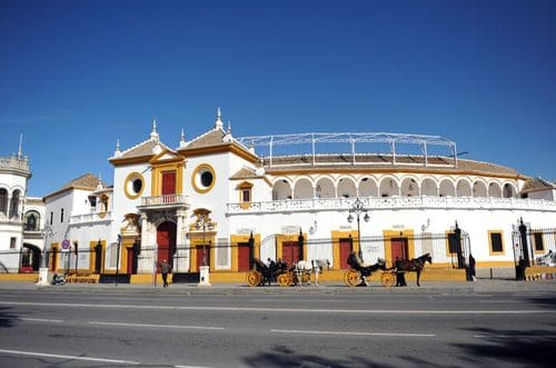 Place des arènes Seville