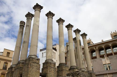 Temple Romain à Cordoue