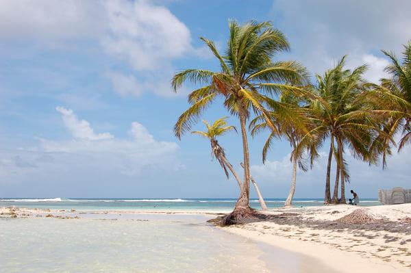 La plage de la Caravelle, Club Med
