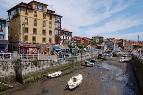 marée basse en Asturies