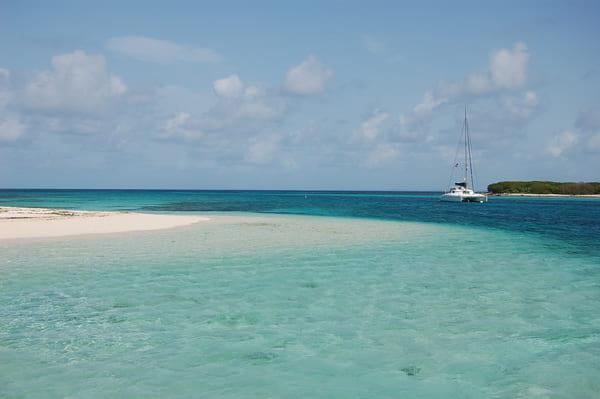 Le Lagon de petite Terre en Guadeloupe