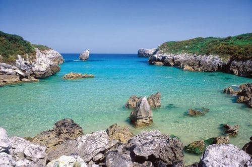mer Asturies plage