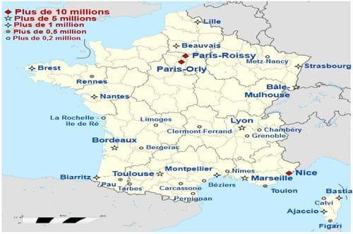 Tous les aéroports de France