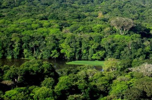 Lagune de Tortuguero ciel