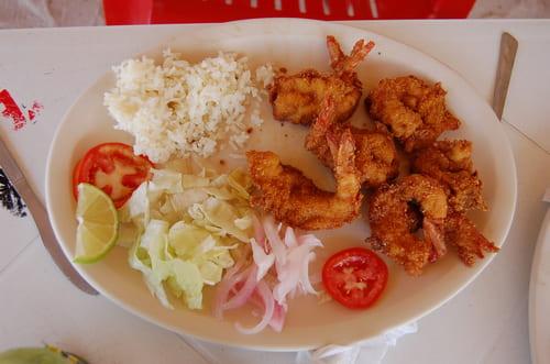 crevettes restaurant mexique