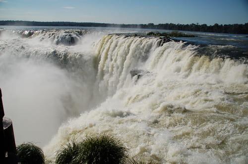 IIguazu chutes en Argentine