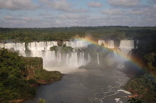 Iguazu au Brésil