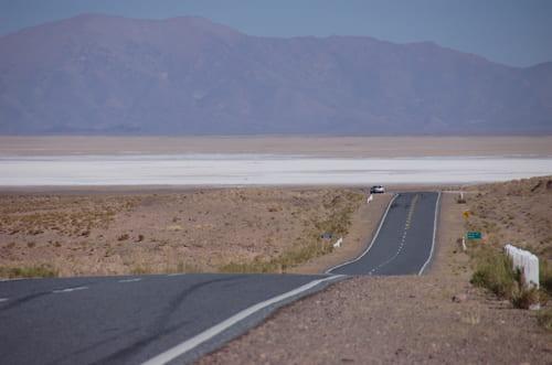 Salinas Grandes accès voiture