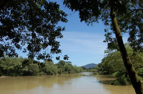 Agua Clara après la pluie