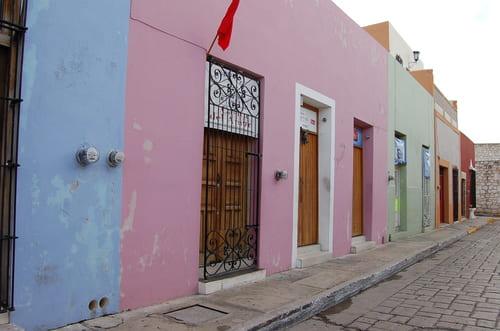 Maisons à Campeche